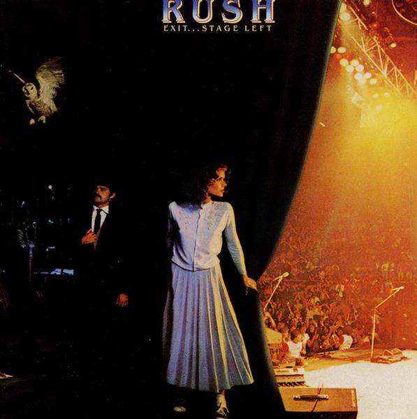 Rush exit stage left progulus radio - Rush album covers ...